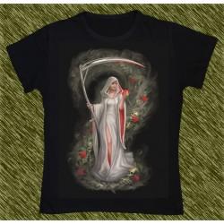 Camiseta Dark13 mujer, dueña de las rosas