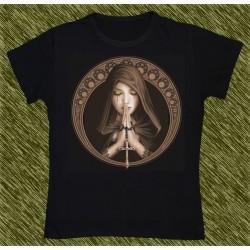 Camiseta Dark13 mujer, rogando por las almas, new