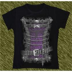 Camiseta Dark13 mujer, corset