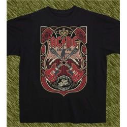 Camiseta negra, AC-DC high voltage 1975