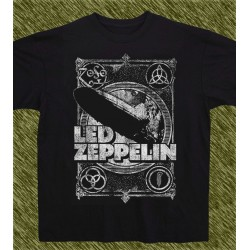 Camiseta negra, Led Zeppelin 1969