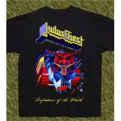 Camiseta negra, Juds Priest, defenders of the faith, new