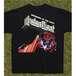 Camiseta negra, Judas Priest, defenders of the faith