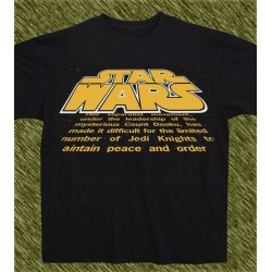 camiseta star wars, film