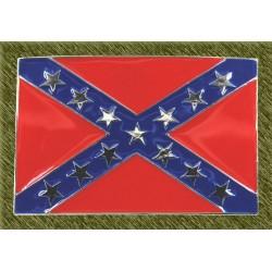 hebilla bandera rebel clásica