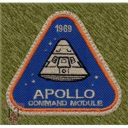 Parche bordado, apollo command module
