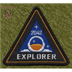 Parche bordado, explorer 2042