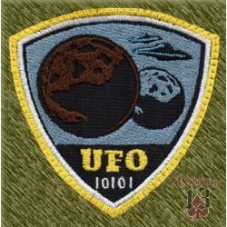 Parche bordado, ufo, planetas