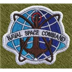 Parche bordado, naval space command