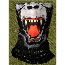 braga microfibra para el cuello, gorila