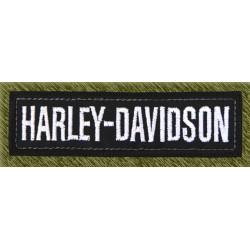Parche bordado, stick harley davidson