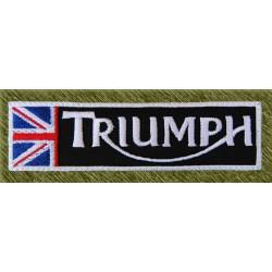 Parche bordado, stick triumph