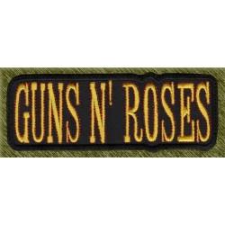 Parche bordado, guns n roses nombre