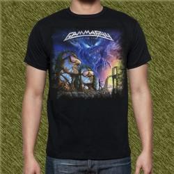 Camiseta negra, gamma ray