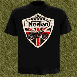 Camiseta negra, norton