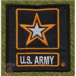 parche bordado, u.s. army, estrella