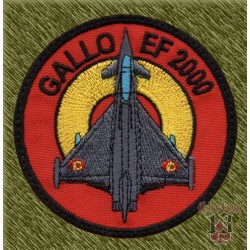 parche bordado, gallo ef-2000