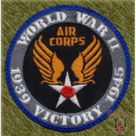 parche bordado, world war II