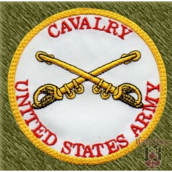 parche bordado, cavalry, united states army