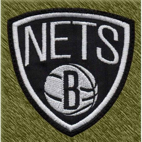 Parche bordado NBA, nets
