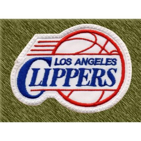 Parche bordado NBA, los angeles clippers