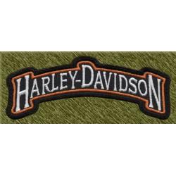 Parche bordado, harley davidson, stick de hombro
