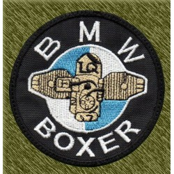 Parche bordado, bmw boxer