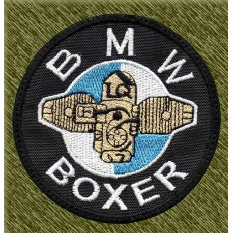 Parche bordado, bmw boxer