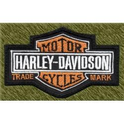 Parche bordado, harley logo antiguo
