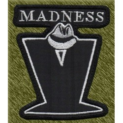 Parche bordado, madness