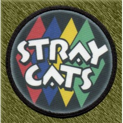Parche sublimación, stray cats logo