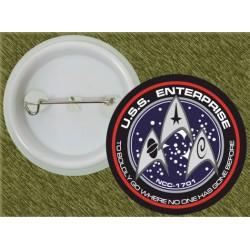 chapa star tek, uss enterprise, ncc 1701