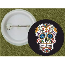 chapa calavera mexicana 1