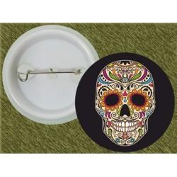 chapa calavera mexicana 2