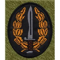 parche bordado, cuchillo operaciones especiales