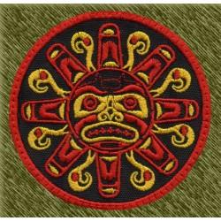Parche sol azteca