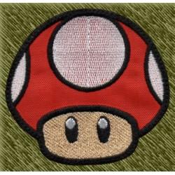 Parche bordado, toad