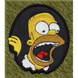 Parche bordado, homer simpson