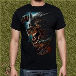 Camiseta dark13, hombre lobo