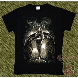 Camiseta Dark13 mujer, puerta del angel caido