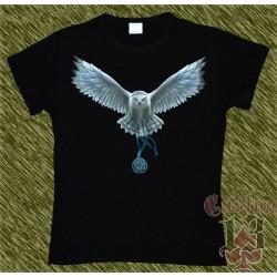 Camiseta Dark13 mujer, lechuza