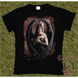 Camiseta Dark13 mujer, lamento del angel caido