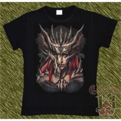 Camiseta Dark13 mujer, valkiria