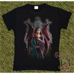 Camiseta Dark13 mujer, mi dragón