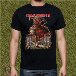 Camiseta negra, legacy of the beast 02