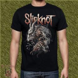 Camiseta negra, slipknot, new