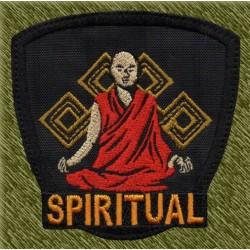 Parche bordado, spiritual