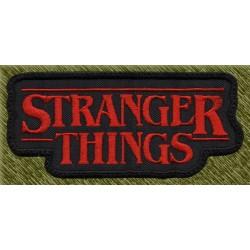 Parche bordado, stranger things