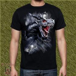 Camiseta dark13, dragón de hielo