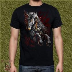 Camiseta dark13, unicornio 01